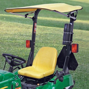 Folding Bimini Sunshade for John Deere 2305